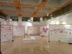 La exposición en el Centro Cultural Nicolás Salmerón